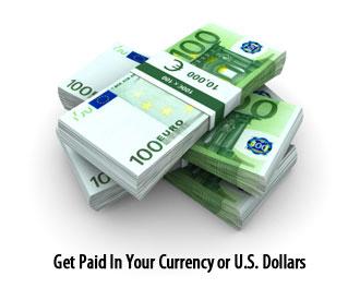 Faites-vous payer dans votre monnaie ou en dollars américains